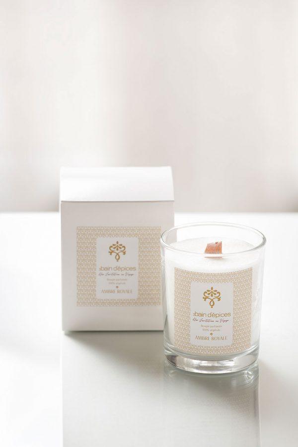 Bougies parfumées Ambre Royale